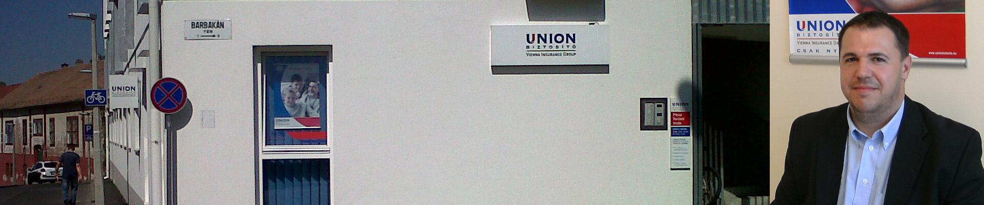 UNION V.I.G Biztosító Zrt Pécs - szerződött partnere